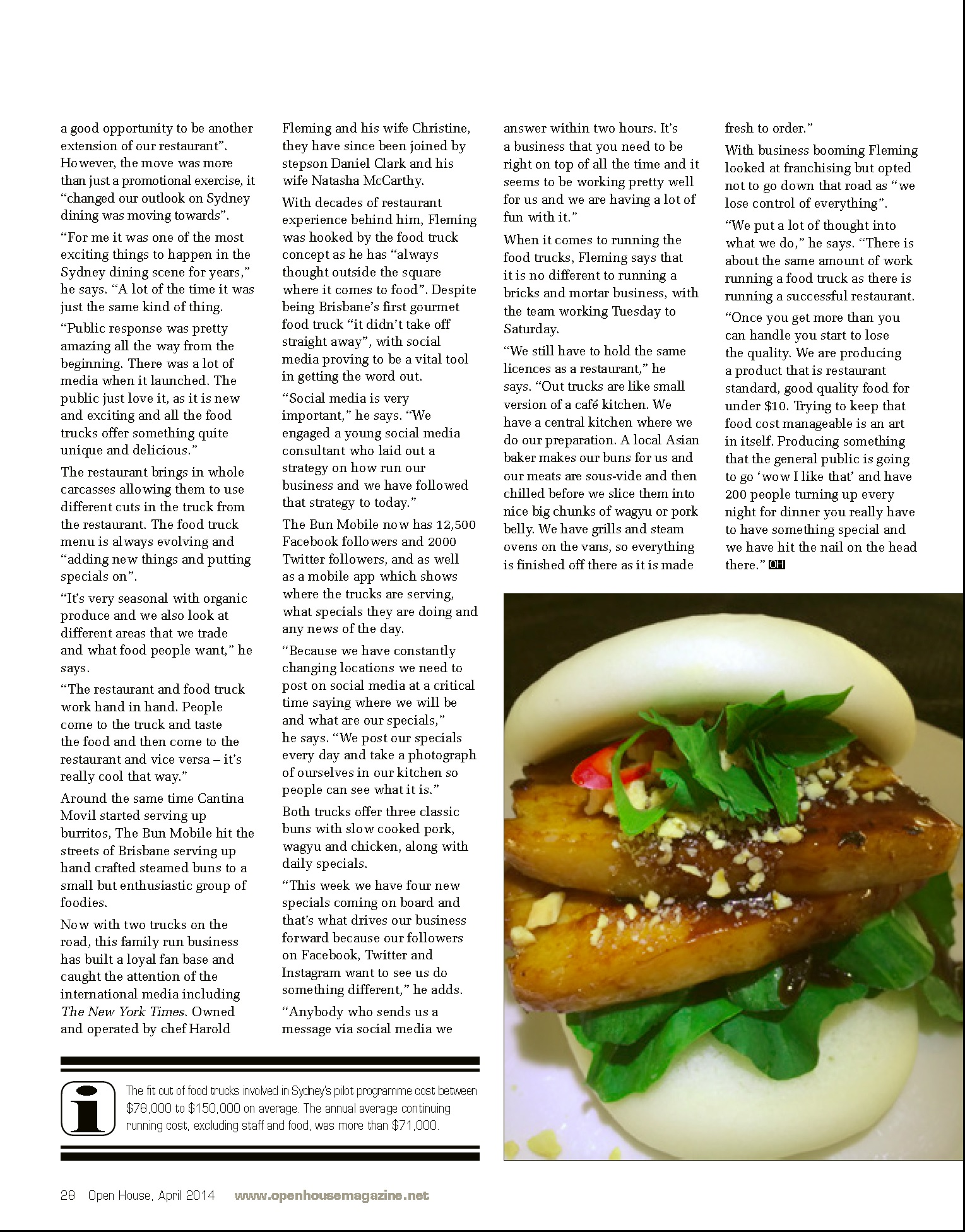 Open House Food Service Magazine PG3